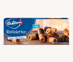 Bahlsen Waffeletten Milk Chocolate Wafers