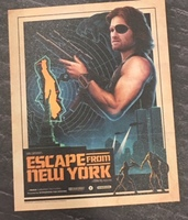 Escape from New York Art Print - Loot Crate Edition