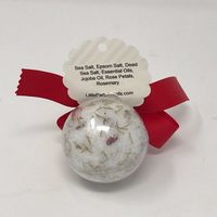 Rosemary, Roses and Mint Bath Salts Ornament