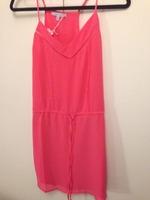 Naked Zebra Pink Strap Dress