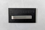 Ezra Arthur stainless steel tie bar - 1.5in