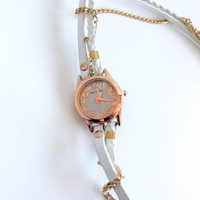 Wrap Watch in Orange