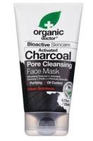 Organic Doctor Bioactive Skincare Activated Charcoal Pore Cleansing Face Mask