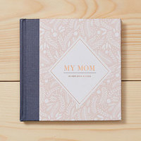 MY MOM In Her Own Words Interview Journal