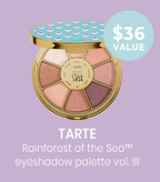 TARTE Highlighting Eyeshadow Palette Vol. III - Rainforest Of The Sea Collection