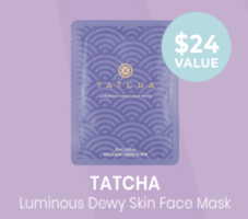 TATCHA Luminous Dewy Skin Sheet Masks (Set of 2)