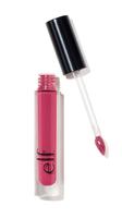 e.l.f. liquid matte lipstick in Berry Sorbet