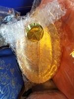 Gold leaf dish