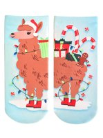Living Royal Party Llama Socks