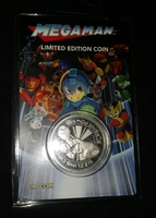 Megaman limited edition coin