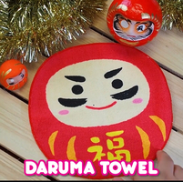 Daruma wash cloth