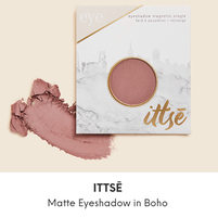 Ittse matte eyeshadow in Boho
