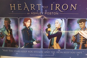 Heart of iron promo poster