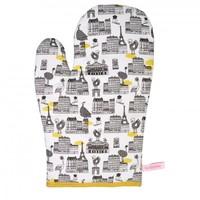 La Cocotte Oven Glove All over Paris design