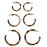 2Bandits Three's a Crowd Earring Set