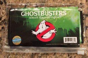 Ghostbusters Screen Cleaning Cloth in vinyl zipper pouch