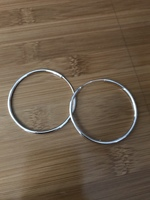Silver-tone Hoop Earrings