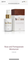 Terre Mere Rose and Pomegranate Moisturizer