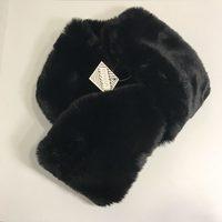 Faux Fur Collar in Black