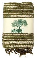 Marquet Fair Trade Open Weave Scarf - Olive Green