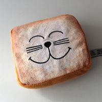 Bread Slice Catnip Toy