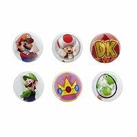 Super Mario Lenticular Pin Badges