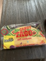 Raindrops Candy Taco