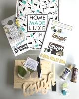 Floral Pallet Sign Kit Entire Box