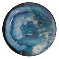 Blue Geode Trinket Dish