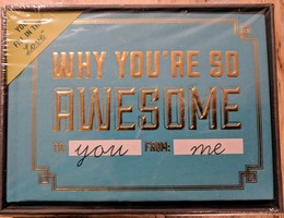 Why You're So Awesome Fill In The Love Journal