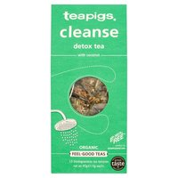 Teapigs Cleanse Tea - green tea with coconut, 15 bags