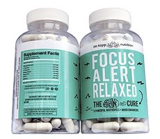 Focus Alert Relaxed - Mood Booster & Nootropics