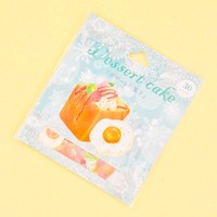 Nekoni Dessert Cake Stickers - Sweet Breakfast