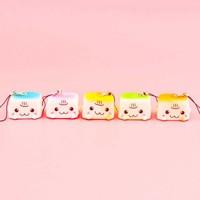 Mini Tofu Squishy Charm