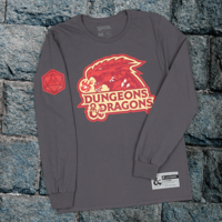Dungeons & Dragons long sleeve tee size M