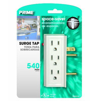 Prime 6 Outlet Sideways Surge Protector