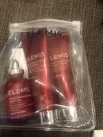 Elemis body collectiom shower and body cream and oil