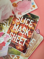 Fruit slice sheet mask kiwi