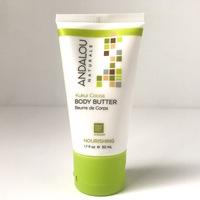 Andalou Naturals Kukui Cocoa Body Butter, 1.7 oz