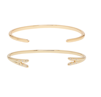 Michelle Campbell Gold Talon Bracelet Set
