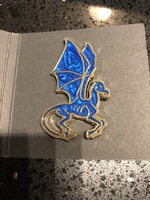 Harry Potter Thestral exclusive pin