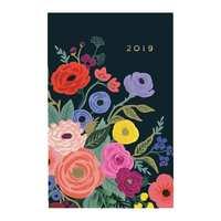 Rifle Paper Co. 2019 Juliet Rose Everyday Pocket Agenda