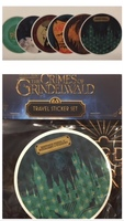 Wizarding World Locations Sticker Set - Harry Potter, The Crimes of Grindelwald