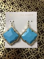 Kendra Scott Turquoise Kirsten Earrings
