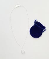 Sliver Opaline Necklace