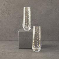 Chic & Tonic Stemless Champagne Flutes