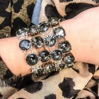 Sydney Bracelet (gold trim)
