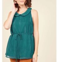 Genuine Ingenuity Top Size Teal with belt