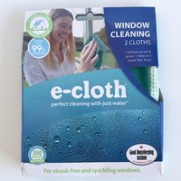 Window cleaning e-Cloth