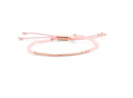 Gorjana Power Gemstone bracelet in rose gold